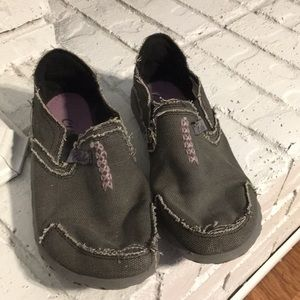 Cushe Women's Distressed Loafers Canvas Size 6